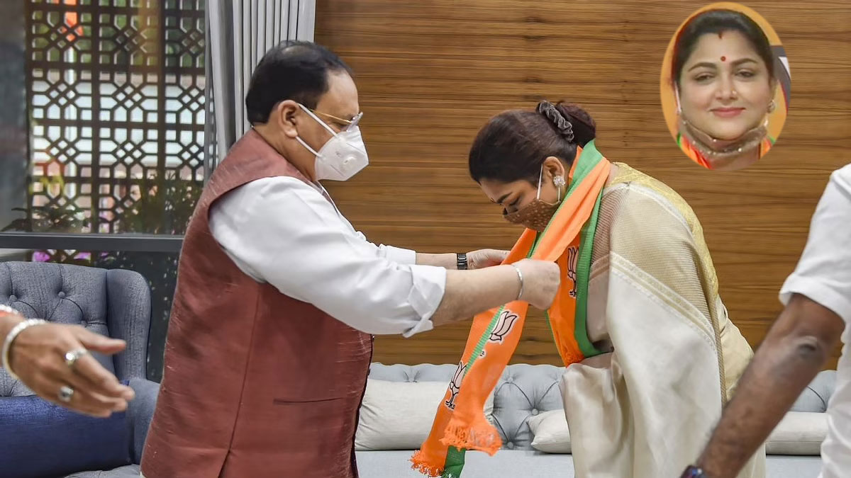 Khushbu Sunder BJP