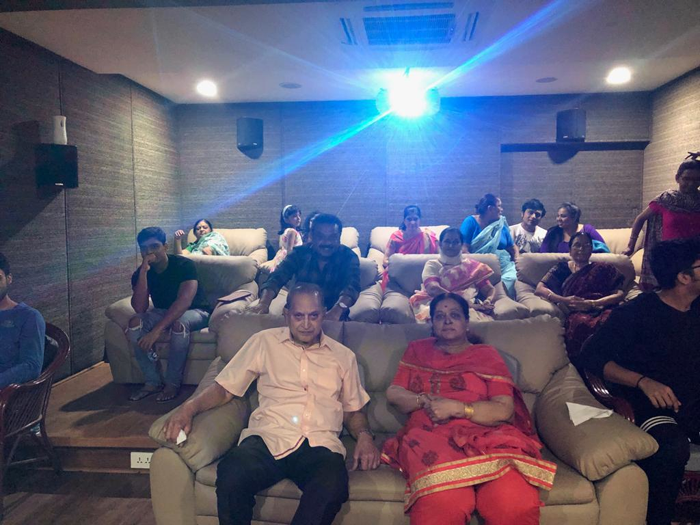 Krishna and family watched Maharshi