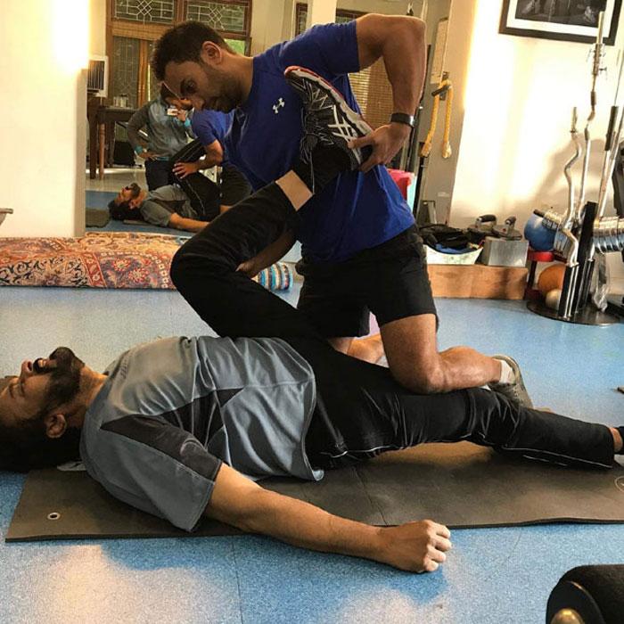 lChiranjeevi Workouts for Sye Raa
