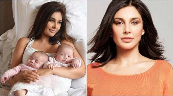 Lisa Ray Blessed With Twins