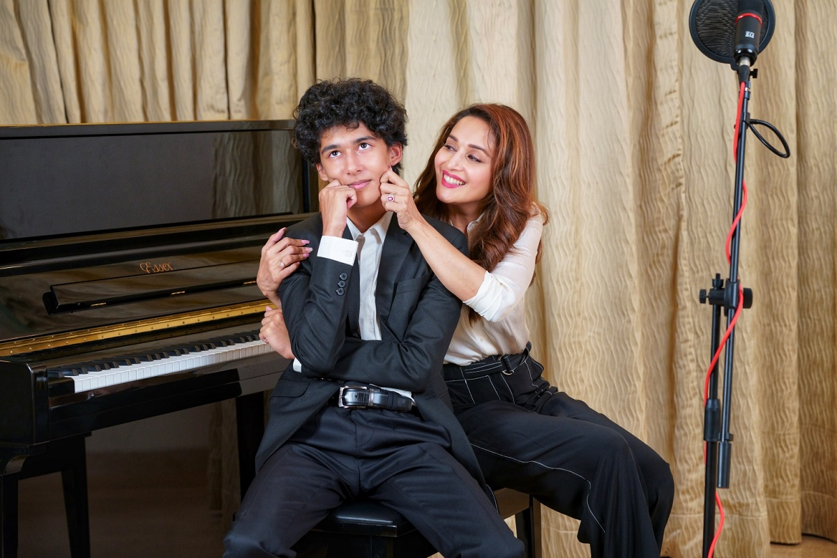 Madhuri Dixit and Arin Nene