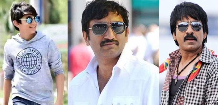Mahadhan, Srinu Vytla and Ravi Teja