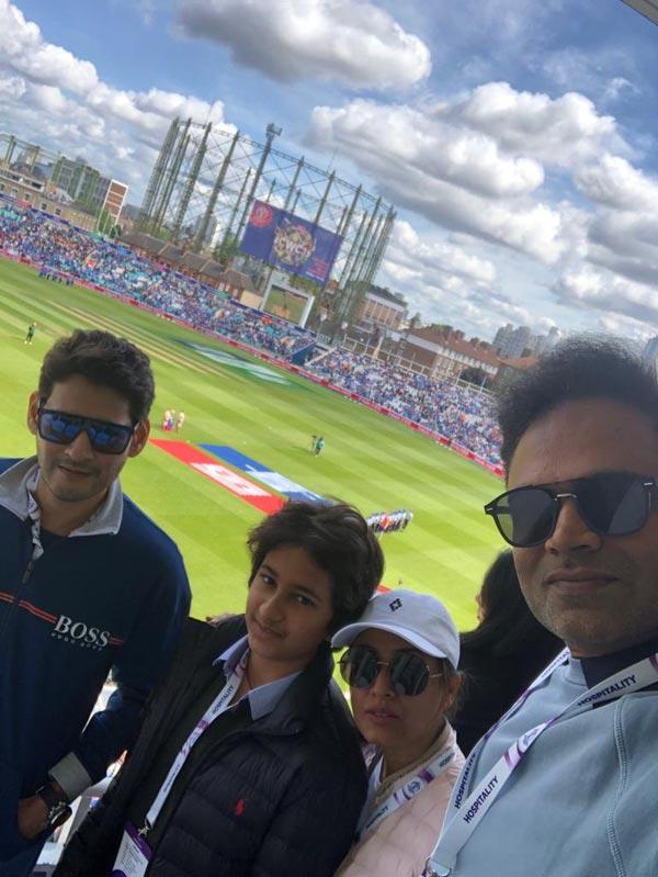 Mahesh Babu AT Oval