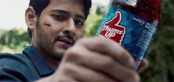 Mahesh Babu Thums Up New Ad