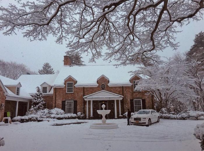 Mansion of Jenifer Lopez
