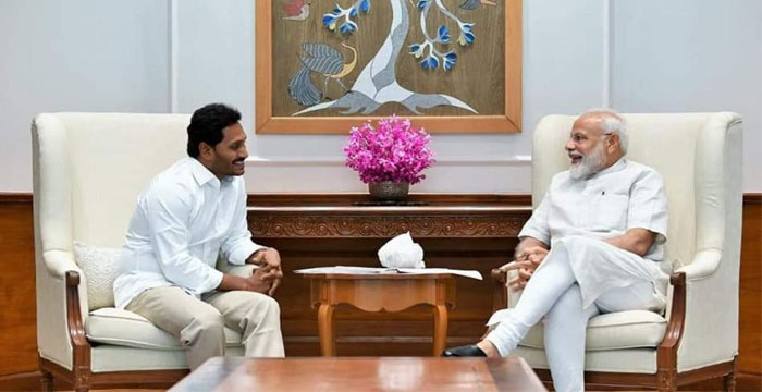 Modi Serious on YS Jagan