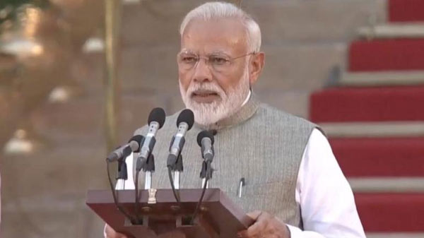 Modi Swearing In Ceremony