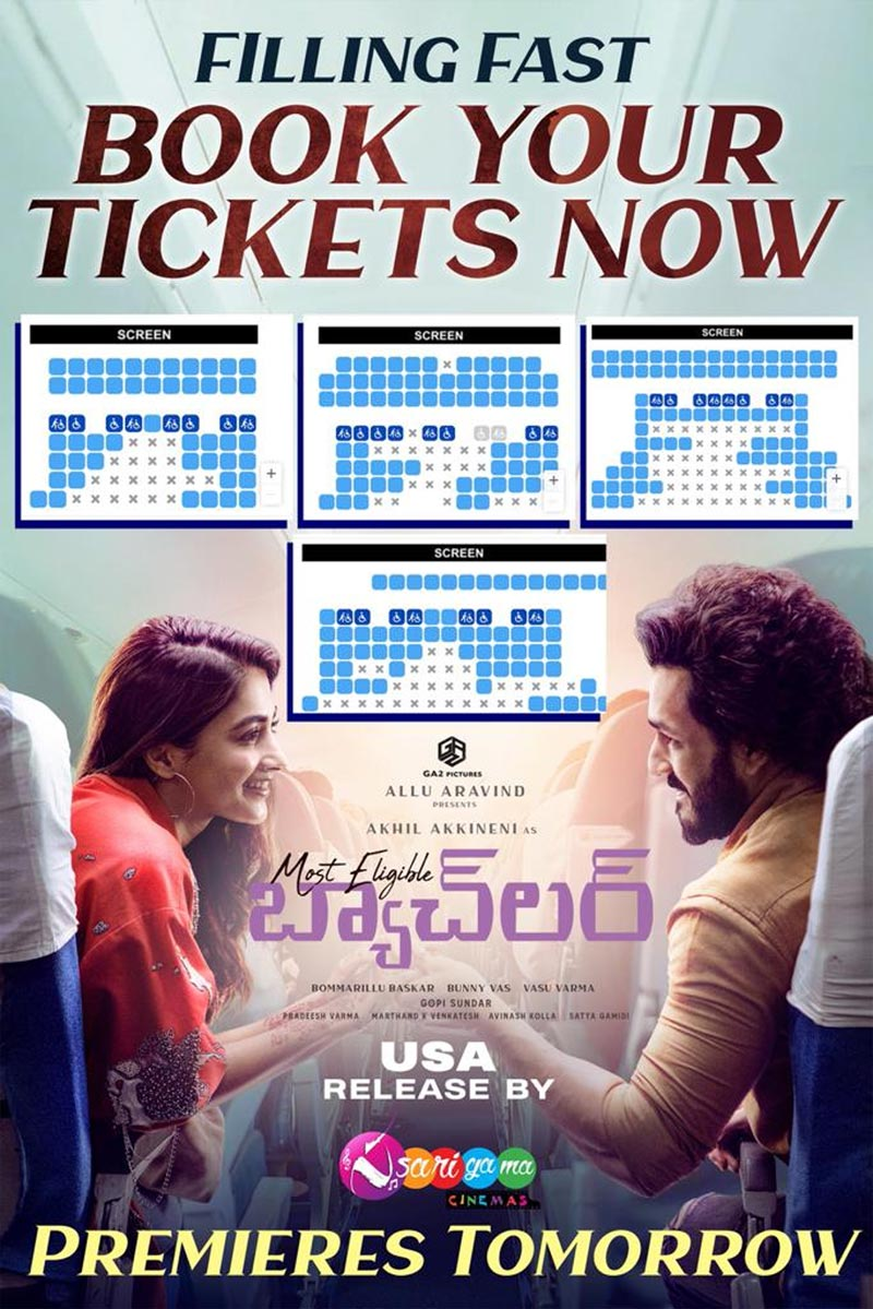 Most Eligible Bachelor US premiers tickets filling fast