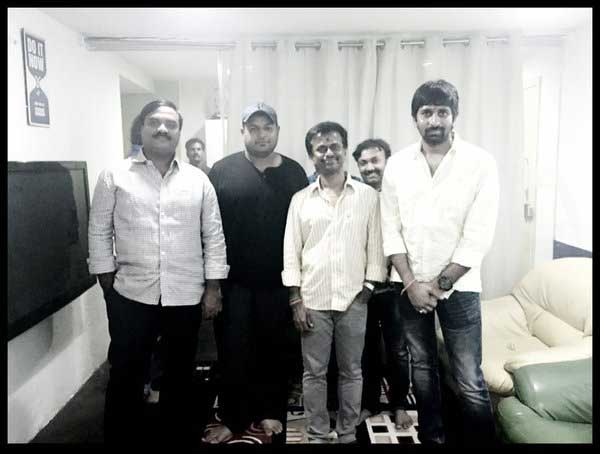 Murugadoss Attends Music Sittings of Sai Dharam Tej's Film