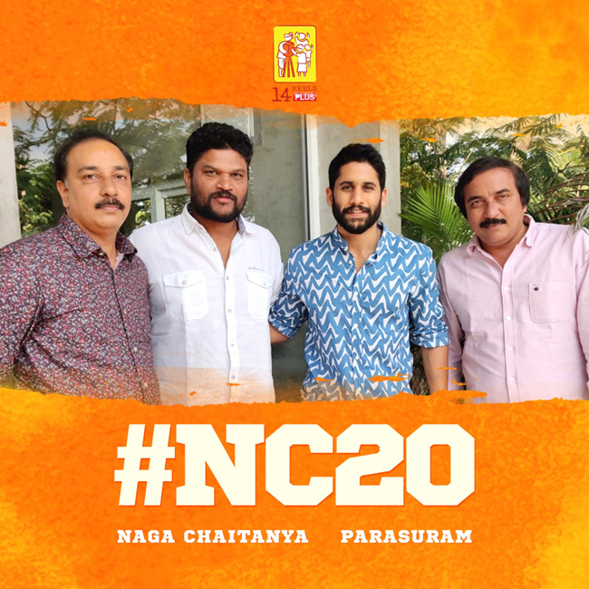 Naga Chaitanya, Parasuram Film Official Announcement