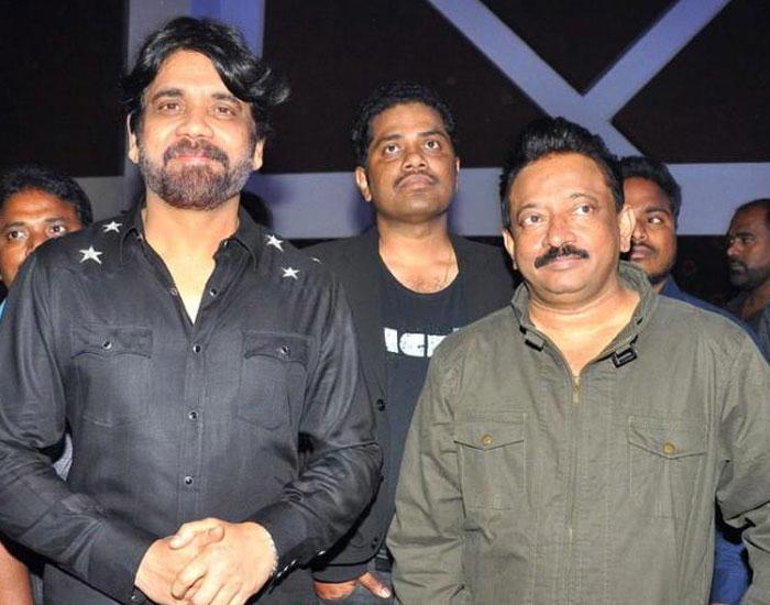 Nagarjuna and RGV's Combo Film Turns Official