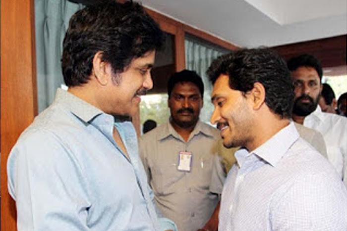 Nagarjuna Meets YS Jagan