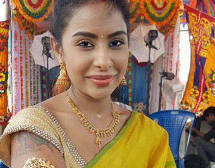 Nani's Wife Fitting Retort to Sri Reddy