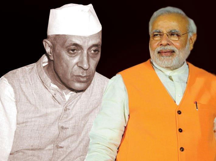 Nehru the Loser? But Modi the Winner