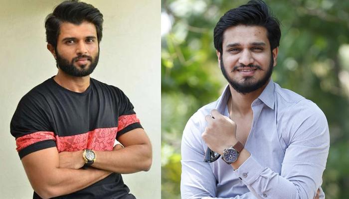 Nikhil Jealous Of Vijay Devarakond