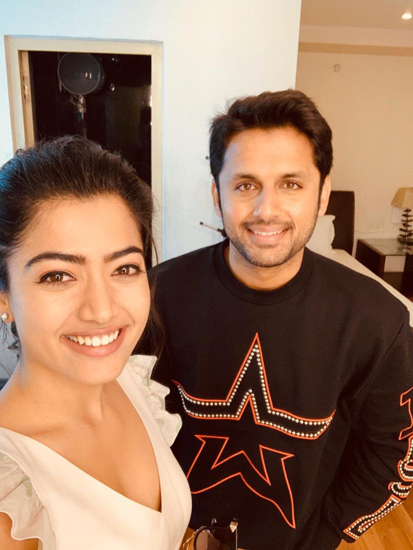 Nithin Hurt With Focus On Rashmika Mandanna