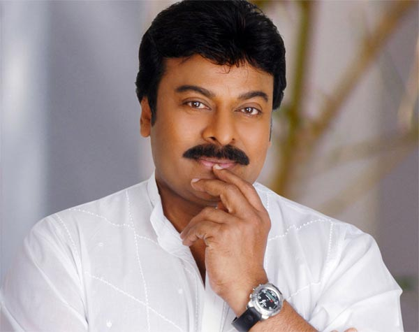 No Time for Chiru Item Song Shoot in Bruce Lee