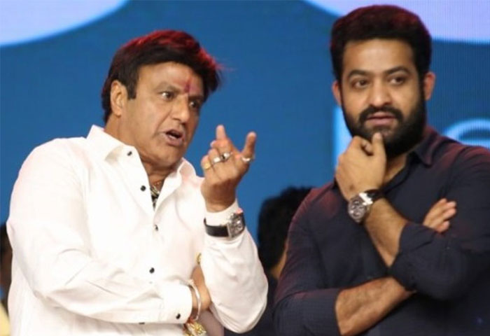 NTR's Annoyance with Balakrishna's Rude Comments?