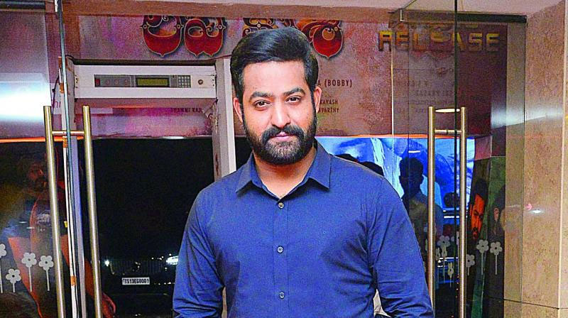 NTR's Diet Control for His Next