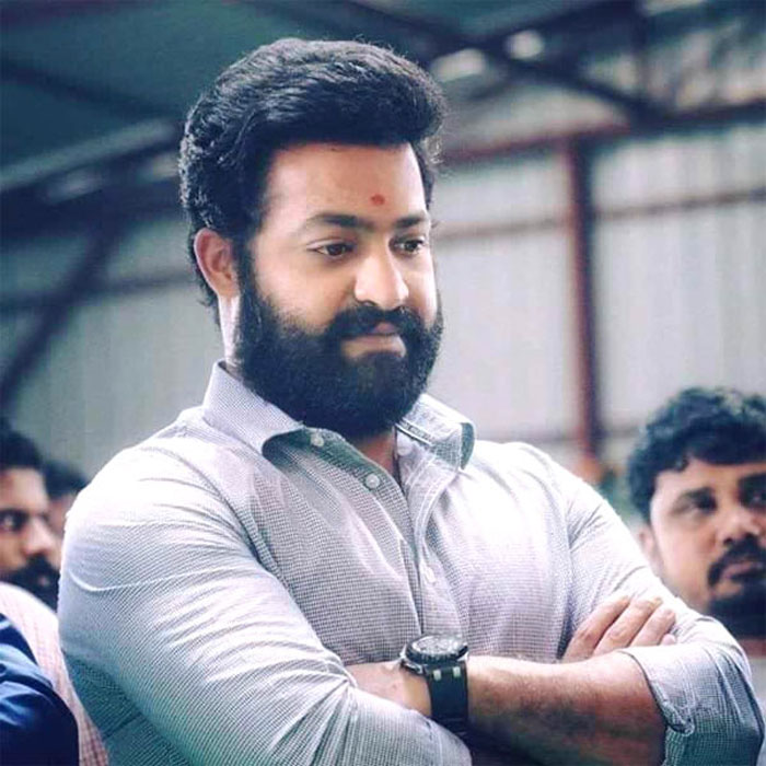 NTR's Tonsured Head in RRR?