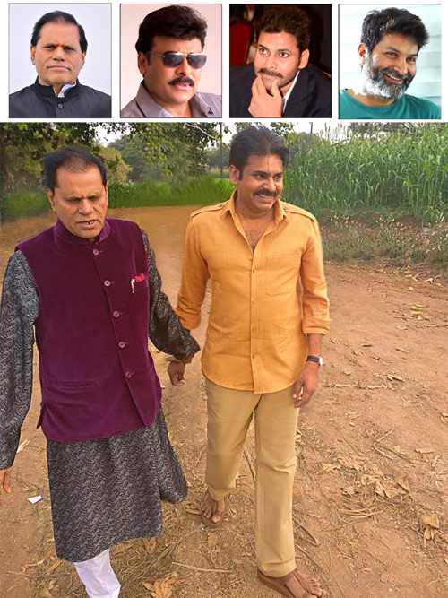 Official: Crazy Multi-starrer with Chiru, Pawan