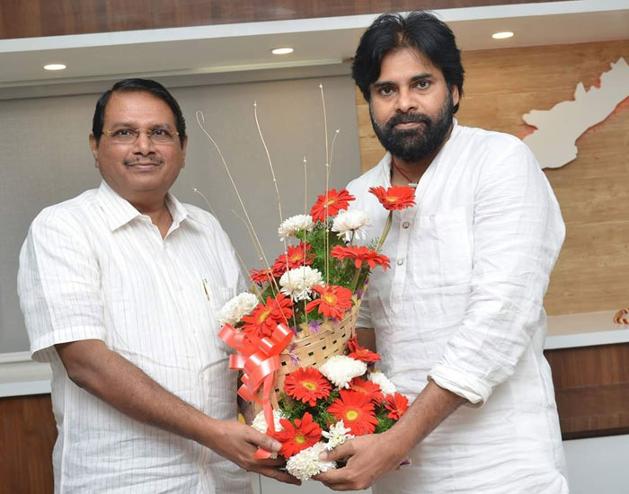 P Ram Mohan Rao As Pawan Kalyan's Political Adviser