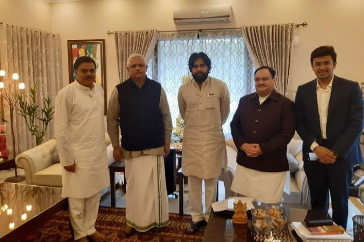 Pawan Kalyan and BJP's Alliance Confirmed