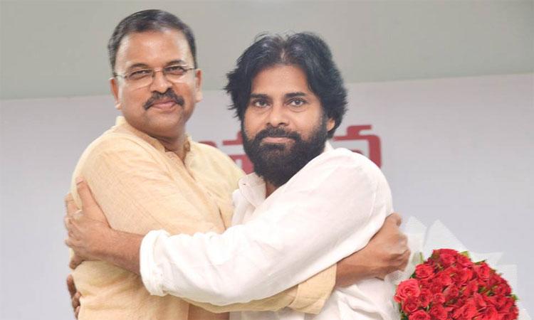 Pawan Kalyan and JD Lakshmi Narayana Leading