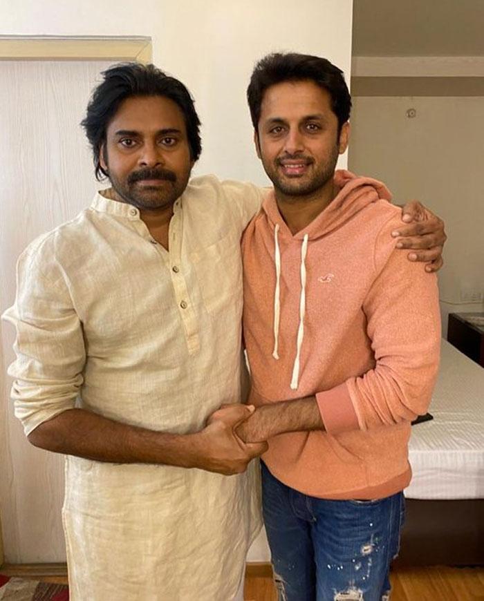 Pawan Kalyan Congratulates Nithiin