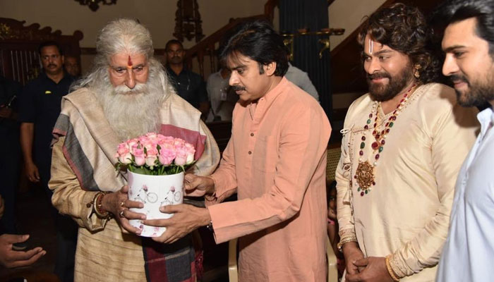 Pawan Kalyan Meets Amitabh