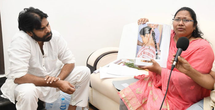 Pawan Kalyan Raises Preeti's Issue