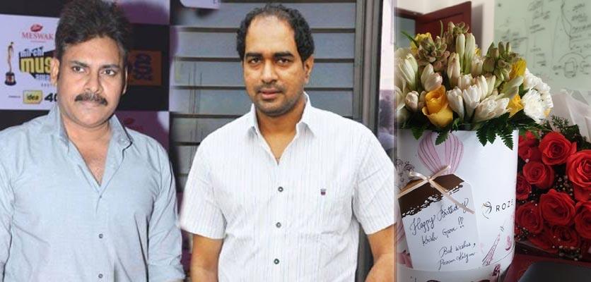 Pawan Kalyan Wishes Krish On His Birthday