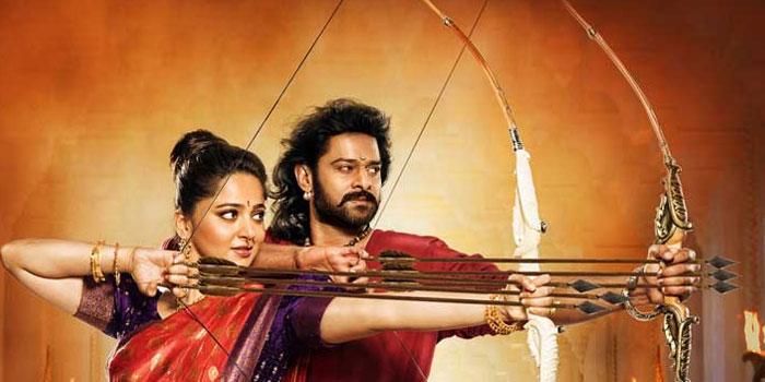 Prabhas and Anushka in Baahubali 2
