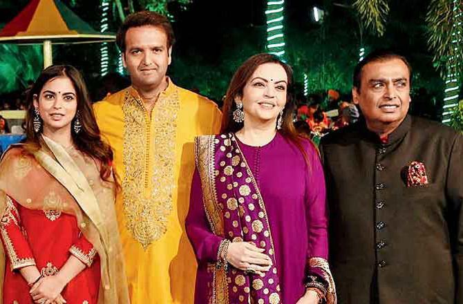 Prabhas attending Ambani's wedding