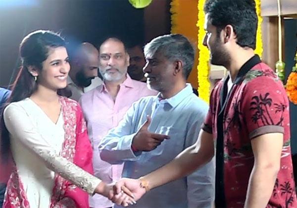 Priya Prakash Varrier Nithin