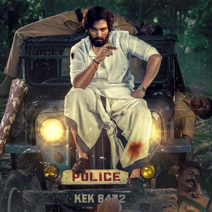 Pushpa pulverizes police! Fan made or original?
