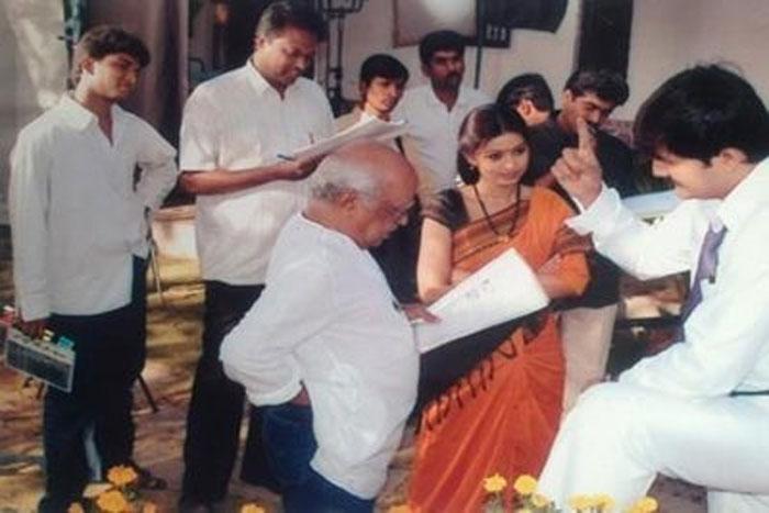 Radha Gopalam Movie Working Still