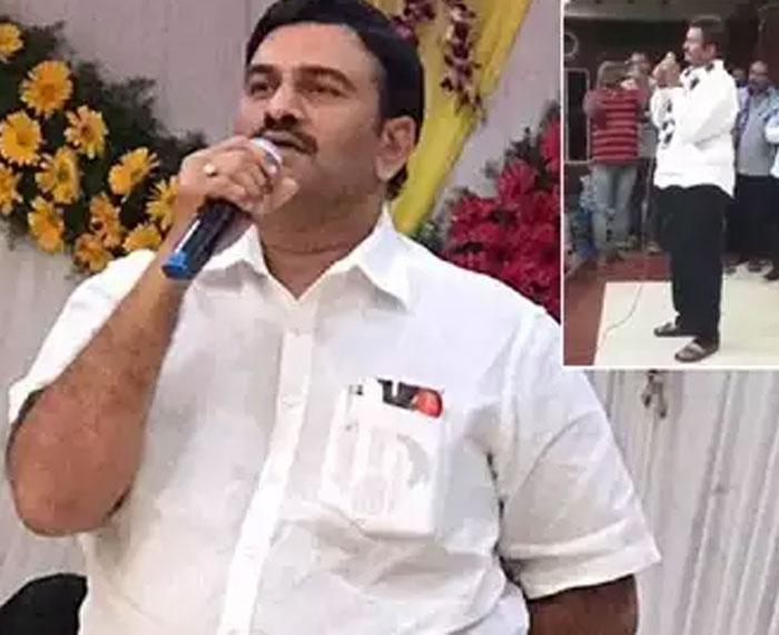 Raghurama Krishnamraju a TDP Covert?
