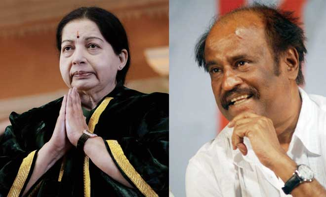 Image result for rajinikanth jayalalitha