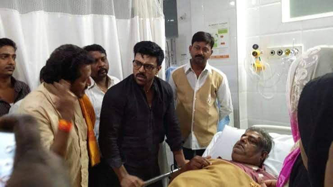 Ram Charan 10 Lakhs To Noor Family