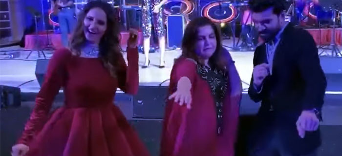 Ram Charan and Sania Mirza Dance Goes Viral
