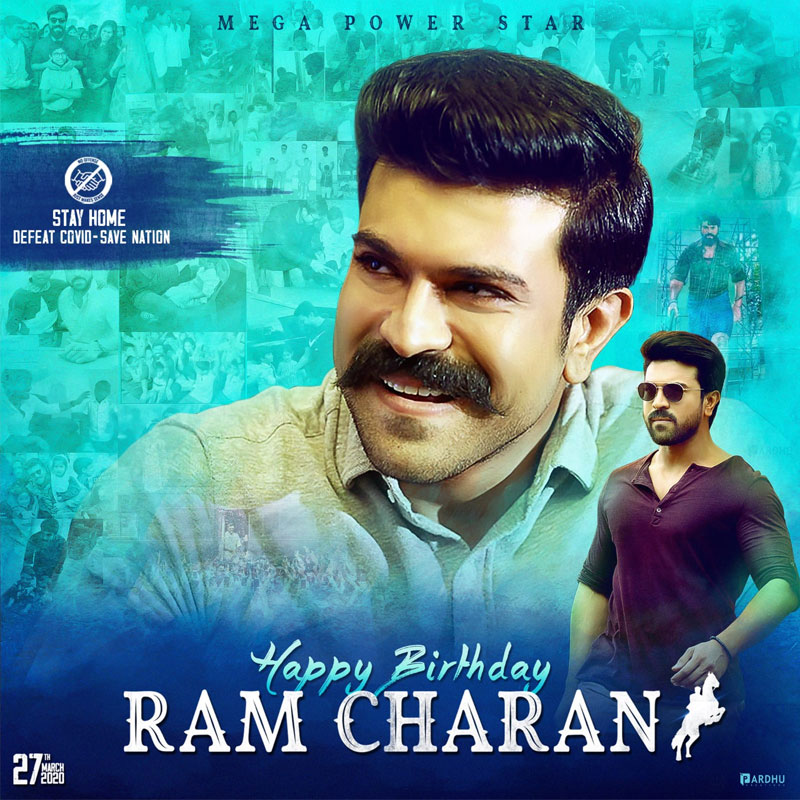 Ram Charan's Birthday DP Rocking