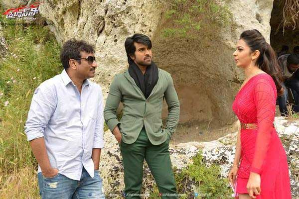 Ram Charan's Flute Step Rocks in 'Lechalo' Song