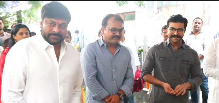 Ram Charan's Role in Chiranjeevi's Film