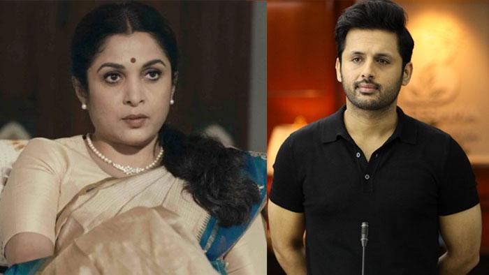 Ramyakrishna In Nithin Andhadhun Remake