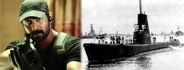 Rana in PNS Ghazi Pakistan Sub Marine Based Film