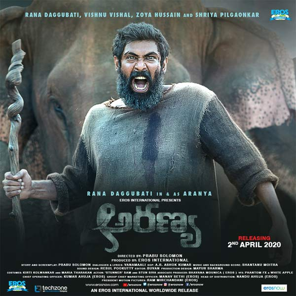 Rana's Haathi Mere Saathi Releasing In Telugu As Aranya