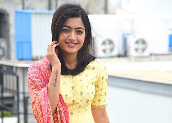 Rashmika as Telangana Cricketer Lilly in Dear Comrade
