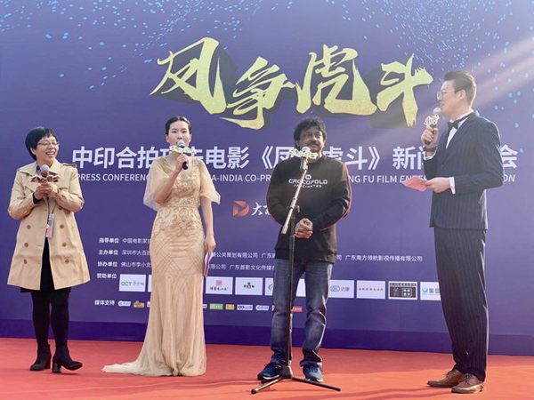 RGV Promoting Enter The Girl Dragon In China