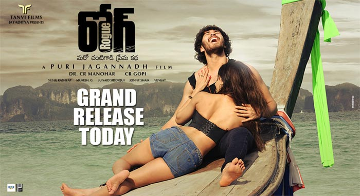Rogue From Puri Jagannath Release Today